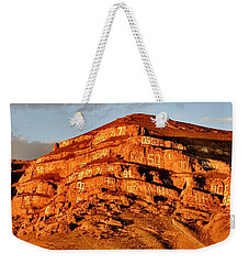 Weekender Tote Bag featuring the photograph Number Hill by Benjamin Yeager