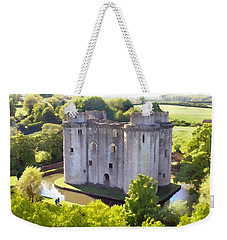 Nunney Castle Painting Weekender Tote Bag