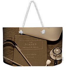 Nurse - The Care Giver Weekender Tote Bag by Paul Ward