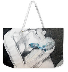 Nurturing The Sea Weekender Tote Bag by Lazaro Hurtado