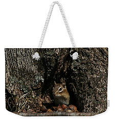 Nut Therapy  Weekender Tote Bag by Neal Eslinger