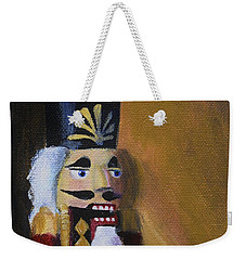 Nutcracker II Weekender Tote Bag by Donna Tuten
