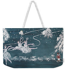 Nutcrackers Dance Of The Snowflakes Weekender Tote Bag