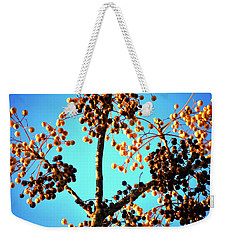 Weekender Tote Bag featuring the photograph Nuts And Berries by Matt Harang