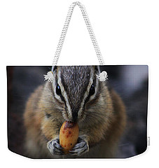 Nuts Weekender Tote Bag by Alyce Taylor