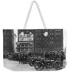 Ny Motorcycle Police Weekender Tote Bag