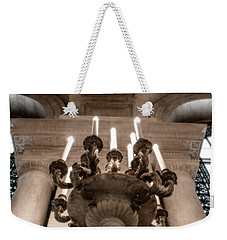 Ny Public Library Candelabra Weekender Tote Bag