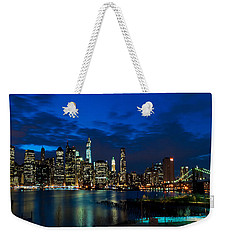 Ny Skyline From Brooklyn Heights Promenade Weekender Tote Bag