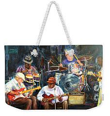 Nyc Blues Weekender Tote Bag
