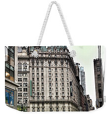 Nyc Radisson Hotel Weekender Tote Bag