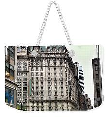 Nyc Radisson Hotel Weekender Tote Bag by Susan Garren