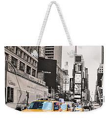Nyc Yellow Cabs Weekender Tote Bag