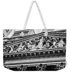 Nyse Weekender Tote Bag by Jerry Fornarotto