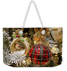 Weekender Tote Bag featuring the photograph O Christmas Tree by Victoria Harrington