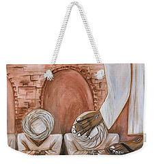 Weekender Tote Bag featuring the painting O Egypt by Cassie Sears