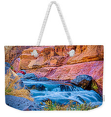 Oak Creek In The Spring Weekender Tote Bag