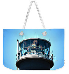 Oak Island Lighthouse Beacon Lights Weekender Tote Bag by Sandi OReilly