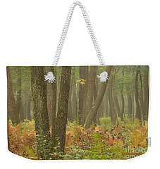 Oak Openings Fog Forest Weekender Tote Bag