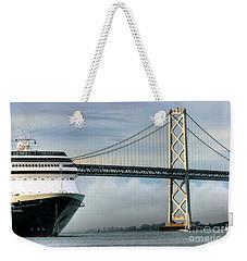 Oakland Bay Bridge  Weekender Tote Bag