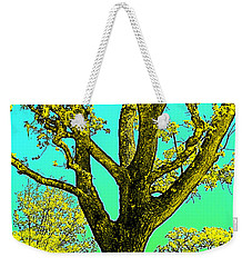 Weekender Tote Bag featuring the photograph Oaks 3 by Pamela Cooper