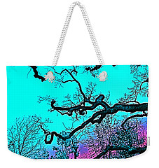 Weekender Tote Bag featuring the photograph Oaks 4 by Pamela Cooper