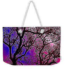 Weekender Tote Bag featuring the photograph Oaks 6 by Pamela Cooper