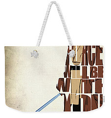 Obi-wan Kenobi - Ewan Mcgregor Weekender Tote Bag