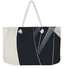 Obsession Sails 9 Black And White Weekender Tote Bag