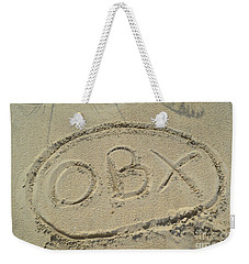 Obx Sign In The Sand Weekender Tote Bag