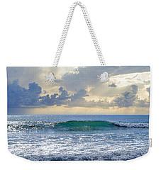 Ocean Blue Weekender Tote Bag by Laura Fasulo