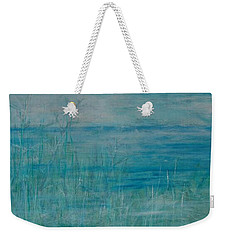 Weekender Tote Bag featuring the painting Ocean Breeze by Jocelyn Friis