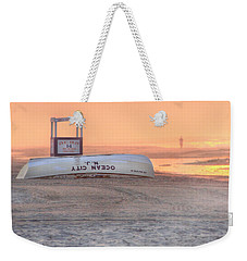 Ocean City Beach Patrol Weekender Tote Bag