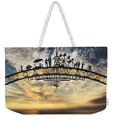 Ocean City Boardwalk Weekender Tote Bag