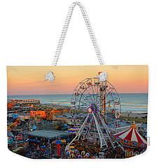 Ocean City Castaway Cove And Music Pier Weekender Tote Bag