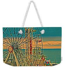 Ocean City Castaway Cove Ferris Wheel Weekender Tote Bag