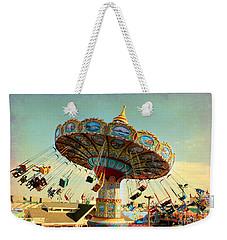 Ocean City Nj Carousel Swing Time Weekender Tote Bag