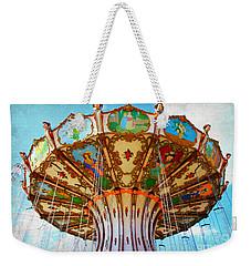 Ocean City Swing Carousel Weekender Tote Bag