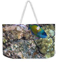 Ocean Color Weekender Tote Bag by Peggy Hughes
