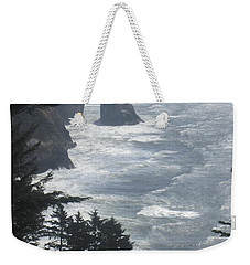 Ocean Drop Weekender Tote Bag by Fiona Kennard