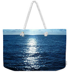 Weekender Tote Bag featuring the painting Ocean Fall by Fei A