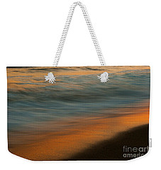Weekender Tote Bag featuring the photograph Wave Impressions  by John F Tsumas