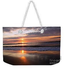 Ocean Isle Beach At Sunrise Weekender Tote Bag