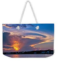 Ocean Isle Sunset Weekender Tote Bag