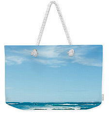 Weekender Tote Bag featuring the photograph Ocean Of Joy by Sharon Mau