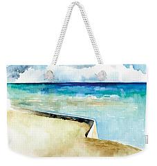 Ocean Pier In Key West Florida Weekender Tote Bag by Catherine Twomey