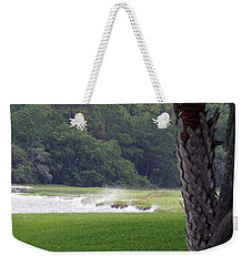Ocean Spray At Hilton Head Island Weekender Tote Bag by Kim Pate