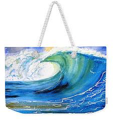Ocean Spray Weekender Tote Bag by Carlin Blahnik