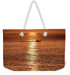 Ocean Sunrise At Montauk Point Weekender Tote Bag