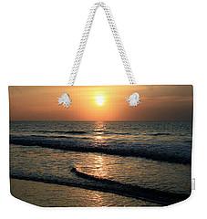 Ocean Sunrise Over Myrtle Beach Weekender Tote Bag