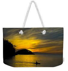Ocean Sunset At Rosario Strait Weekender Tote Bag